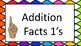 Sign Language Math Fact Cards Adding #1-20