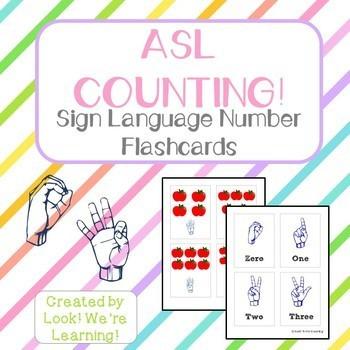 Sign Language Printables: ASL Learning Bundle!