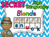 Sign Language Secret Blends