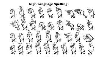 Sign Language Spelling