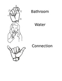 Sign Language Symbols for Transitions