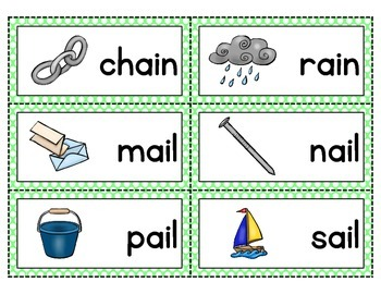 Sign Language Vowel Team Words