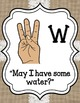 Sign Language for Classroom Management and Levels of Understanding