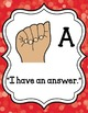 Sign Language for Classroom Management and Levels of Under