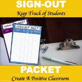 Sign-Out Log
