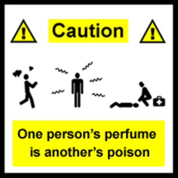 Sign:  Perfume or Poison?