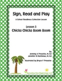 ASL Lesson Plan - Chicka Chicka Boom Boom - A Sign, Read and Play