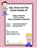 American Sign Language (ASL) The Sign, Read and Play Colle