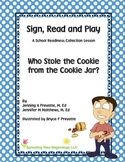 ASL Lesson Plan -Who Stole the Cookie from the Cookie Jar?