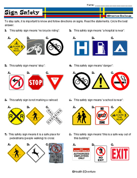 Sign Safety: Reading Road Signs