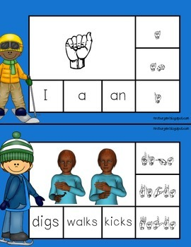 Sign, Spell, Clip,  American Sign Language Set 3