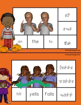 Sign, Spell, Clip  American Sign Language Set 6