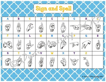Sign and Spell