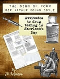 Sign of Four - Conan-Doyle - Drugs in Sherlock's Day