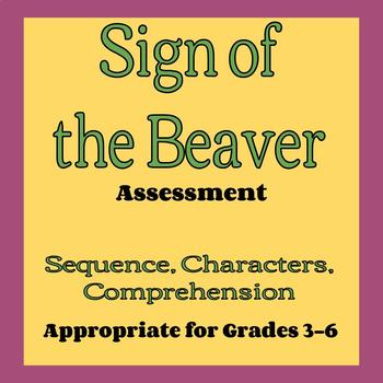 Sign of the Beaver Assessment