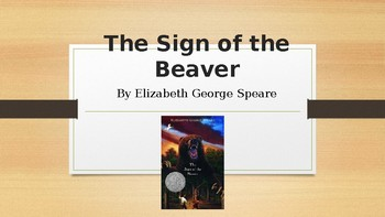 Sign of the Beaver Inference Lesson