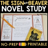 Sign of the Beaver Novel Study - Activities
