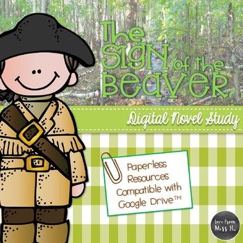 Sign of the Beaver Novel Study (DIGITAL)