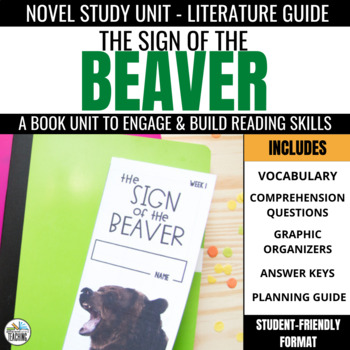 Sign of the Beaver Foldable Novel Study Unit
