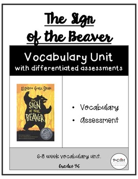 Sign of the Beaver Vocabulary Unit