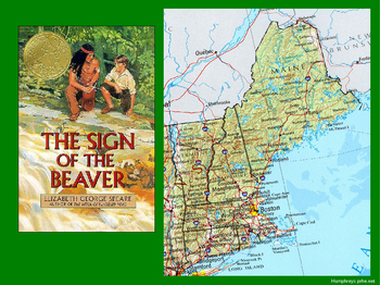 Sign of the Beaver intro PowerPoint presentation