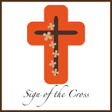 First Grade Prayer Worksheets {Sign of the Cross: English}