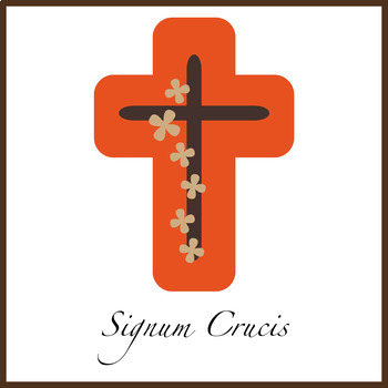 First Grade Prayer Worksheets {Sign of the Cross: Latin}