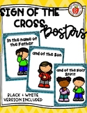 Catholic Sign of the Cross Posters & Color Pages