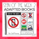 Sign of the Week Volume 2 Adapted Books Set