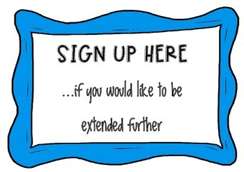 Sign-up Sheets for Differentiation