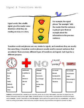 Signal & Transition Words
