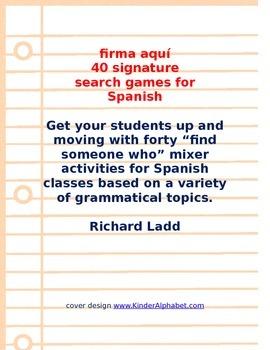 Signature Searches SPANISH