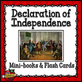 Signers of the Declaration of Independence Mini-books and Flashcards