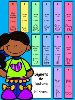 Signets de lecture - 1er niveau