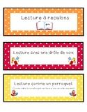 Signets de lecture