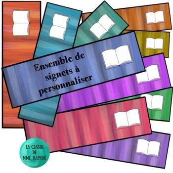Signets de lecture - Bookmark