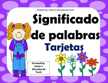 Significado de Palabras - Word Meaning - Spanish