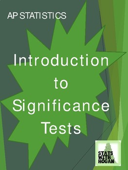 AP Statistics - Significance Tests: An Introduction