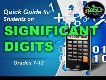 Significant Digits or Figures