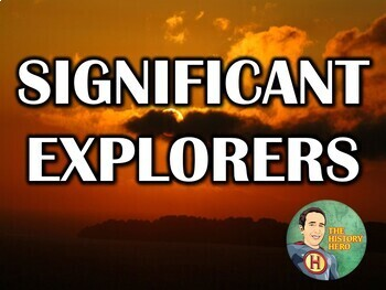 Significant Explorers PowerPoint