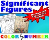 Significant Figures - Color By Number