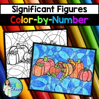Significant Figures Color-by-Number