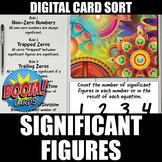 Significant Figures Boom Cards | Distance Learning | Self-Grading