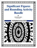 Significant Figures Essentials and Rounding Worksheet Activity Set