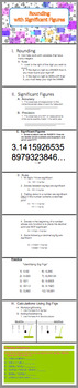 #hallowdeals Significant Figures - Full Unit (With Activities for SPED/ELL/ESL)