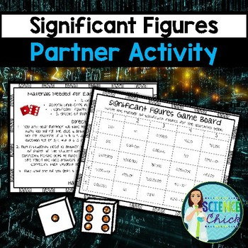 Significant Figures Partner Activity