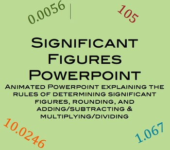 Significant Figures Powerpoint