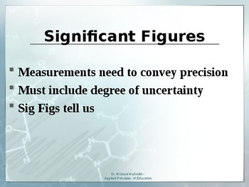 Significant Figures Presentation