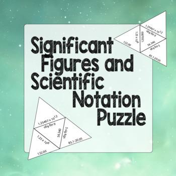 Significant Figures Puzzle