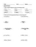 Significant Figures Rules and Practice Problems